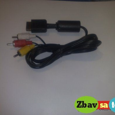 PS2 tv kabel.